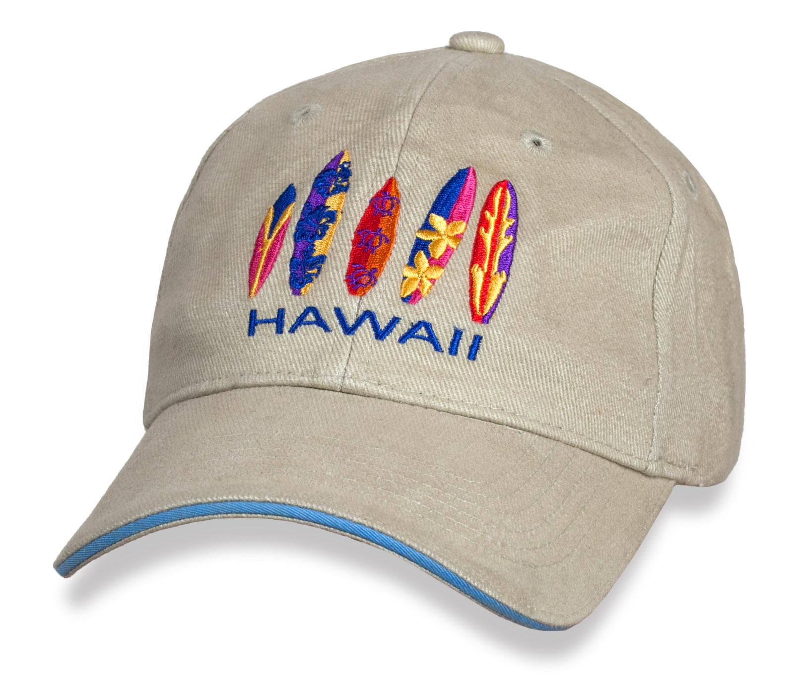 Эффектная бейсболка Hawaii.