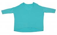 Эффектная кофточка бирюзового цвета от Karisma для очаровашек