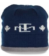 Эффектная недорогая зимняя женская шапка на флисе модная качественная и удобная модель