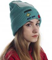 Эффектная шапка для девушек с чувством юмора и стиля. Хитовая модель!