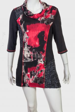 Эффектное платье-туника Marie Claire