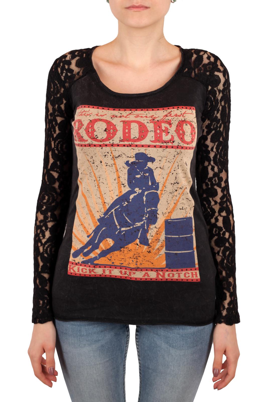 Купить черный женский свитшот Panhandle
