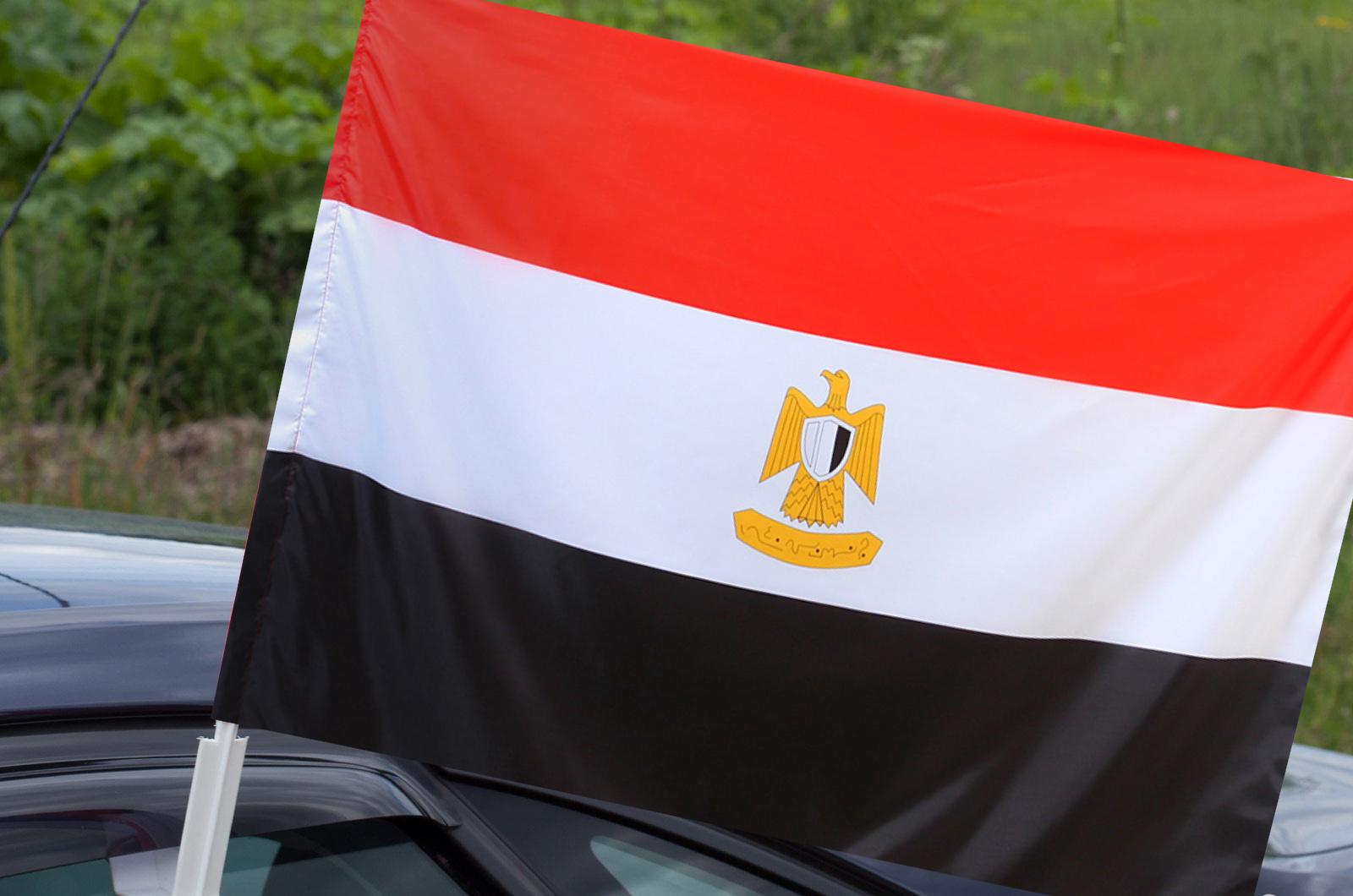 Египетский флаг на машину