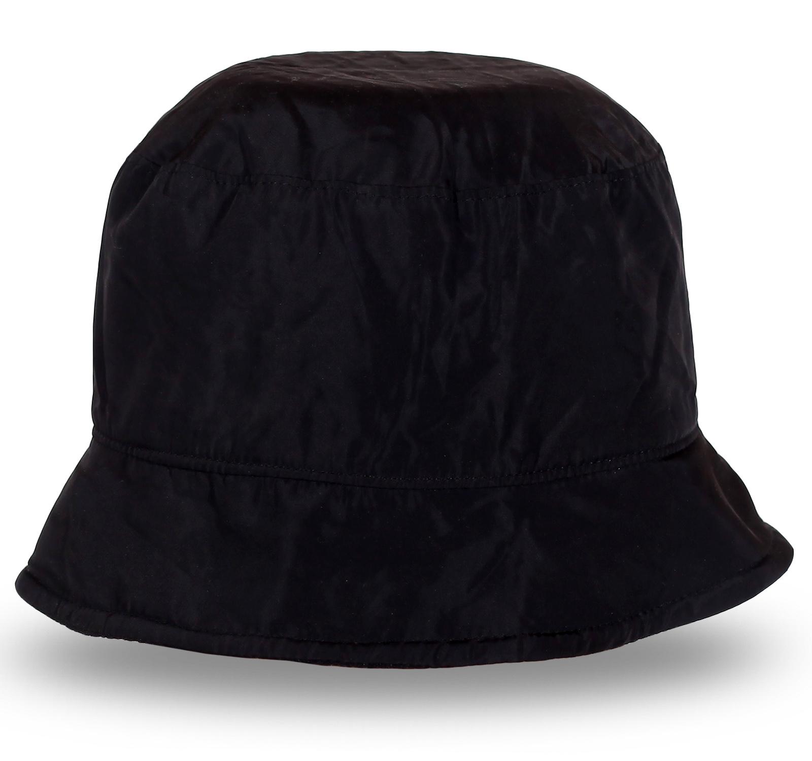 Легкая черная шляпа. Успей купить сегодня!