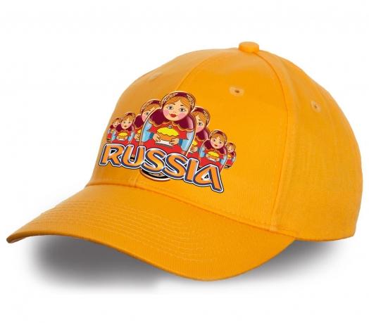 """Эксклюзив от Военпро! Дизайнерская бейсболка """"Russia матрешки"""" - тренд сезона! Яркая, удобная, стильная. Заказывай и носи с удовольствием!"""
