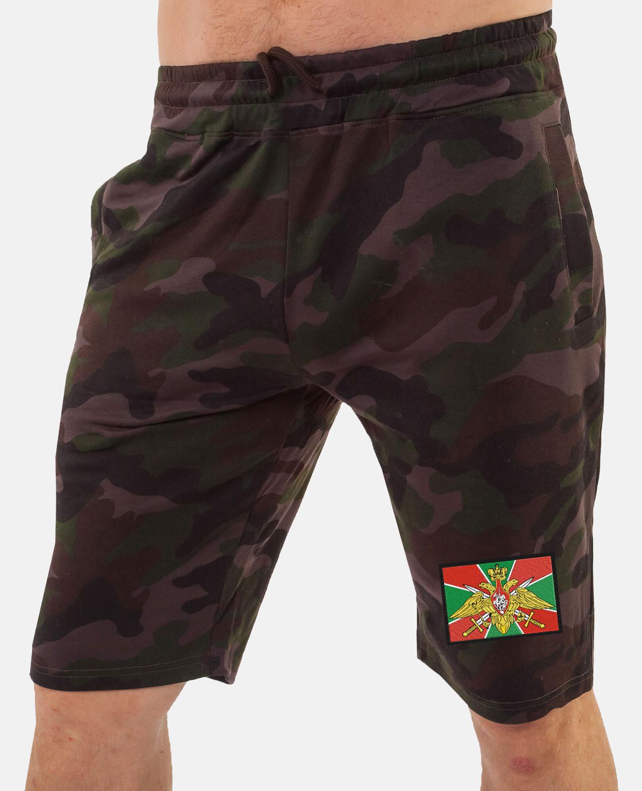 Армейские шорты камуфляж оптом
