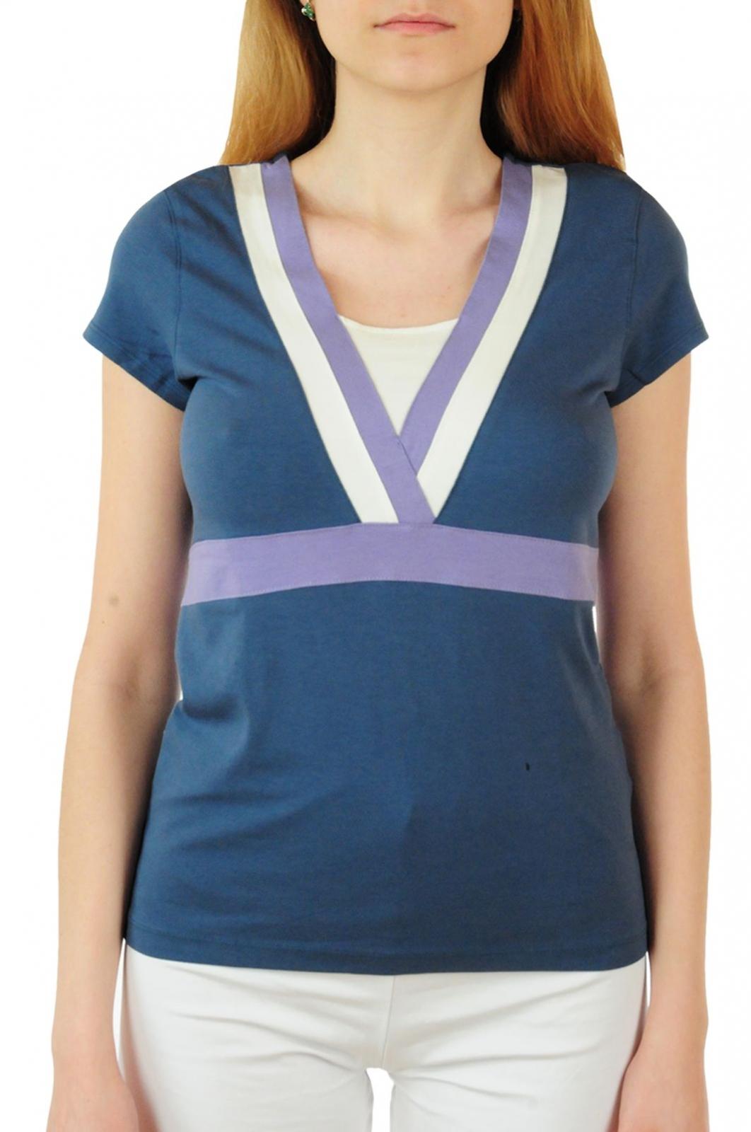 Эксклюзивная футболка Bossini® Yoga - вид спереди