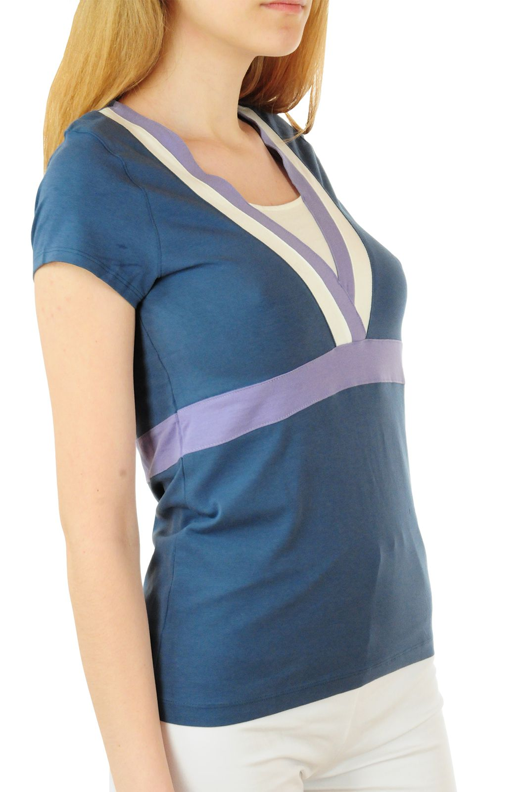 Эксклюзивная футболка Bossini® Yoga - вид сбоку
