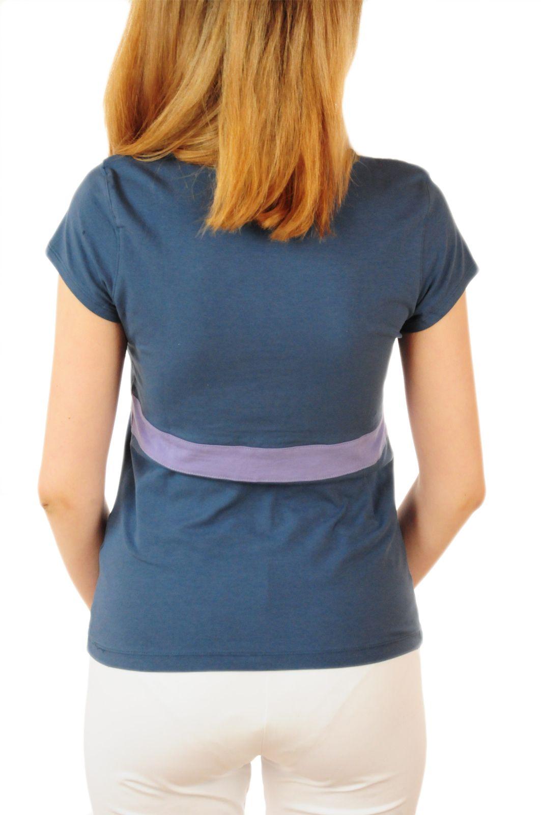 Эксклюзивная футболка Bossini® Yoga - вид сзади