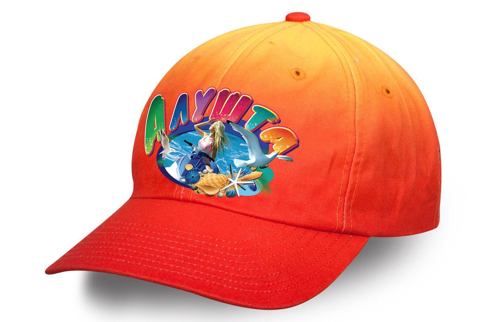 Эксклюзивная кепка для пляжного отдыха в Алуште - заказать оптом с доставкой