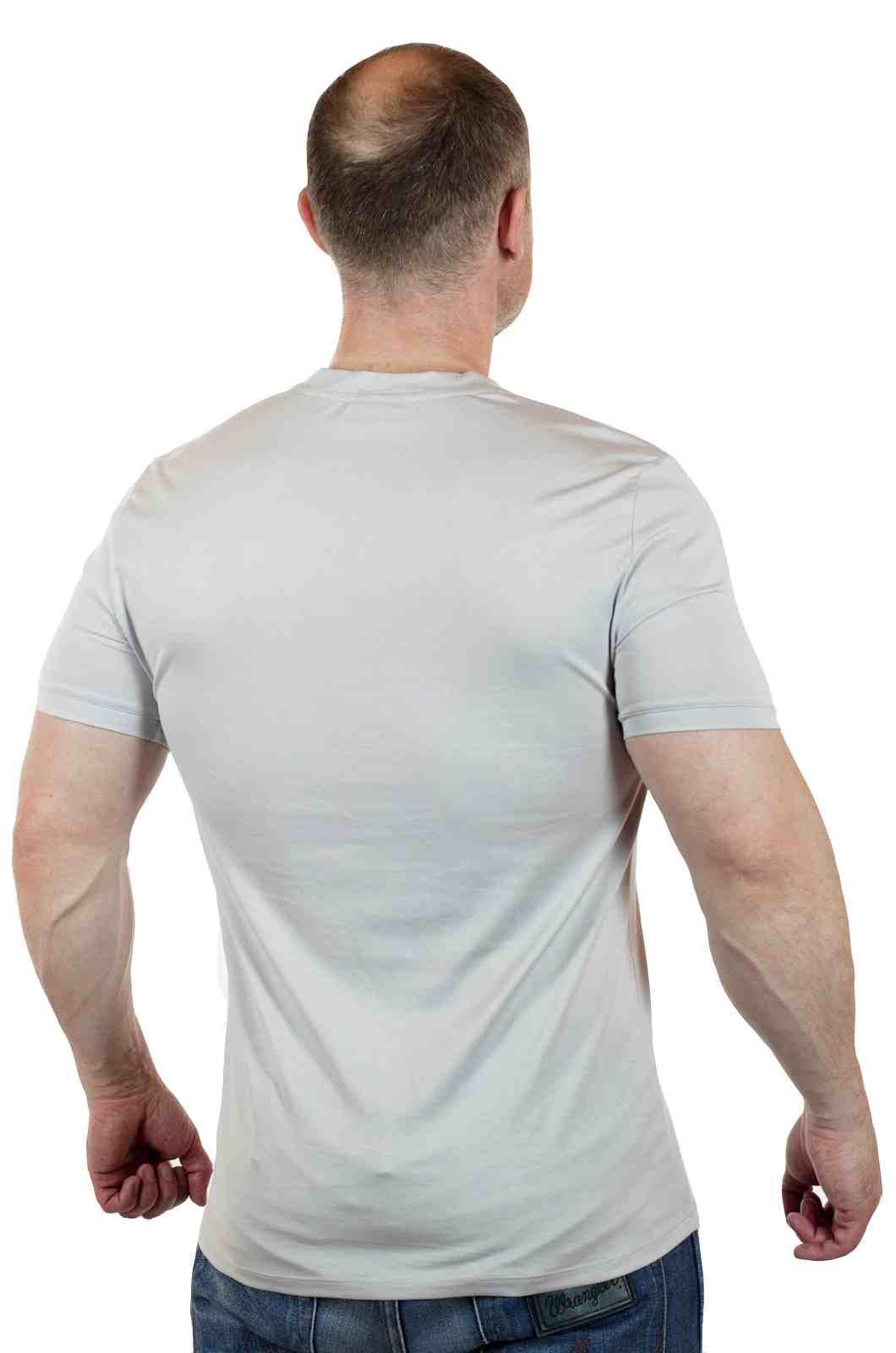Эксклюзивная мужская футболка из Италии от Murano-сзади