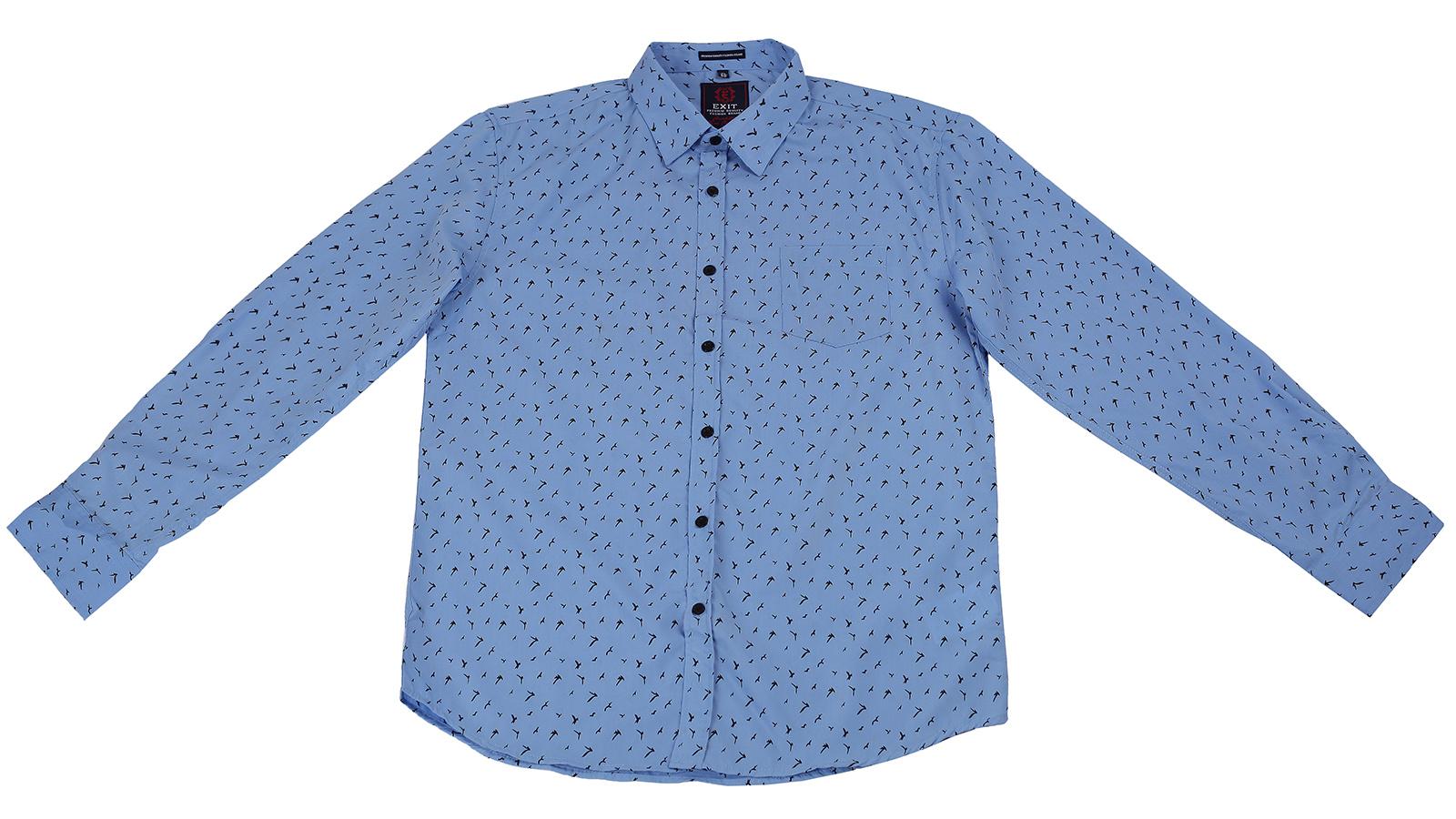 Трендовая рубашка для стильных мужчин Exit