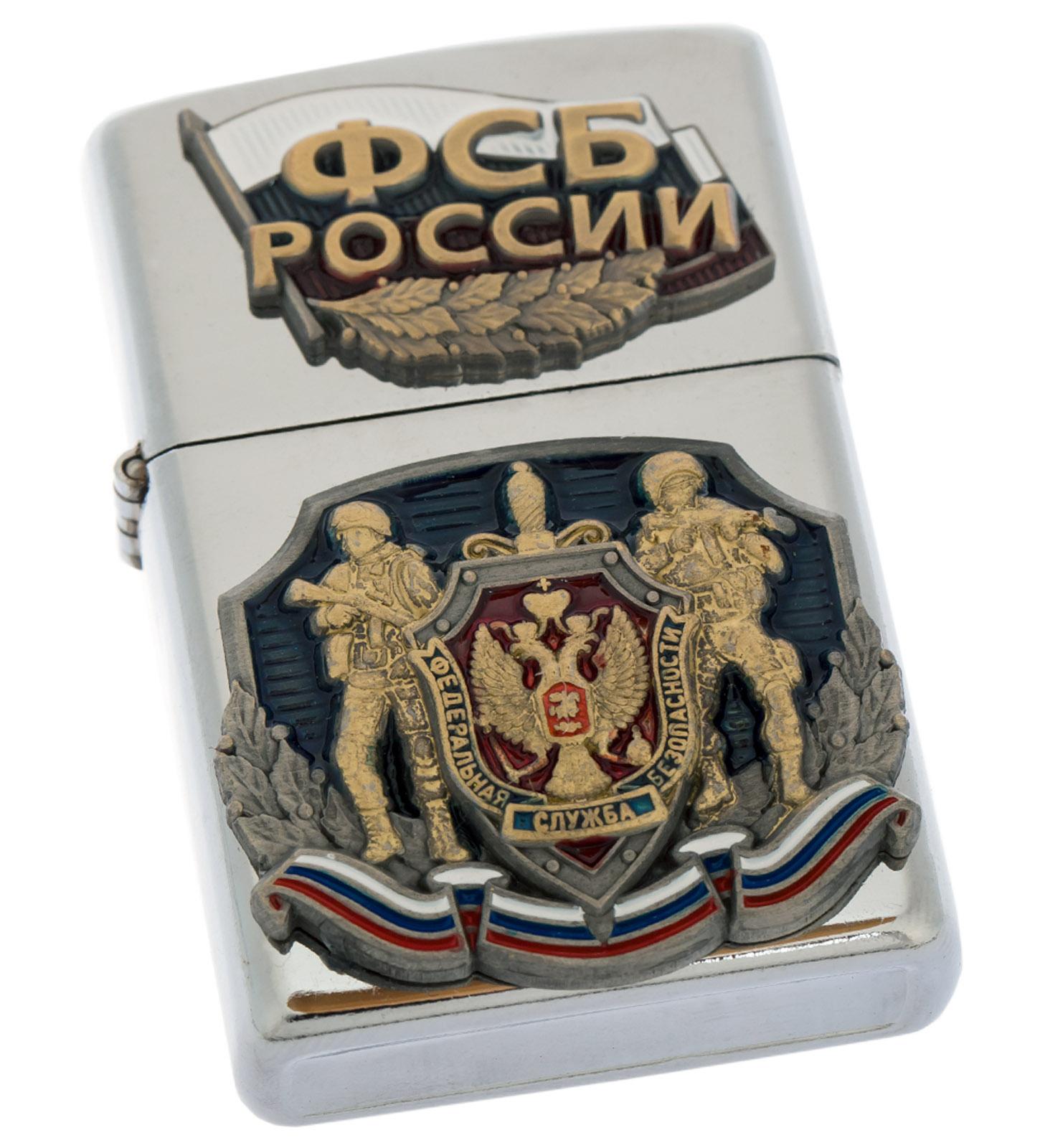 """Эксклюзивная зажигалка """"ФСБ России"""" от Военпро"""