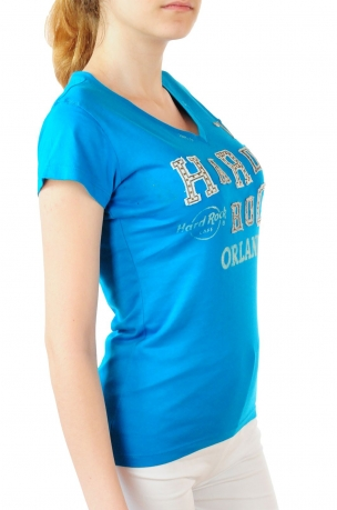 Эксклюзивная женская футболка Hard Rock® Orlando - вид сбоку