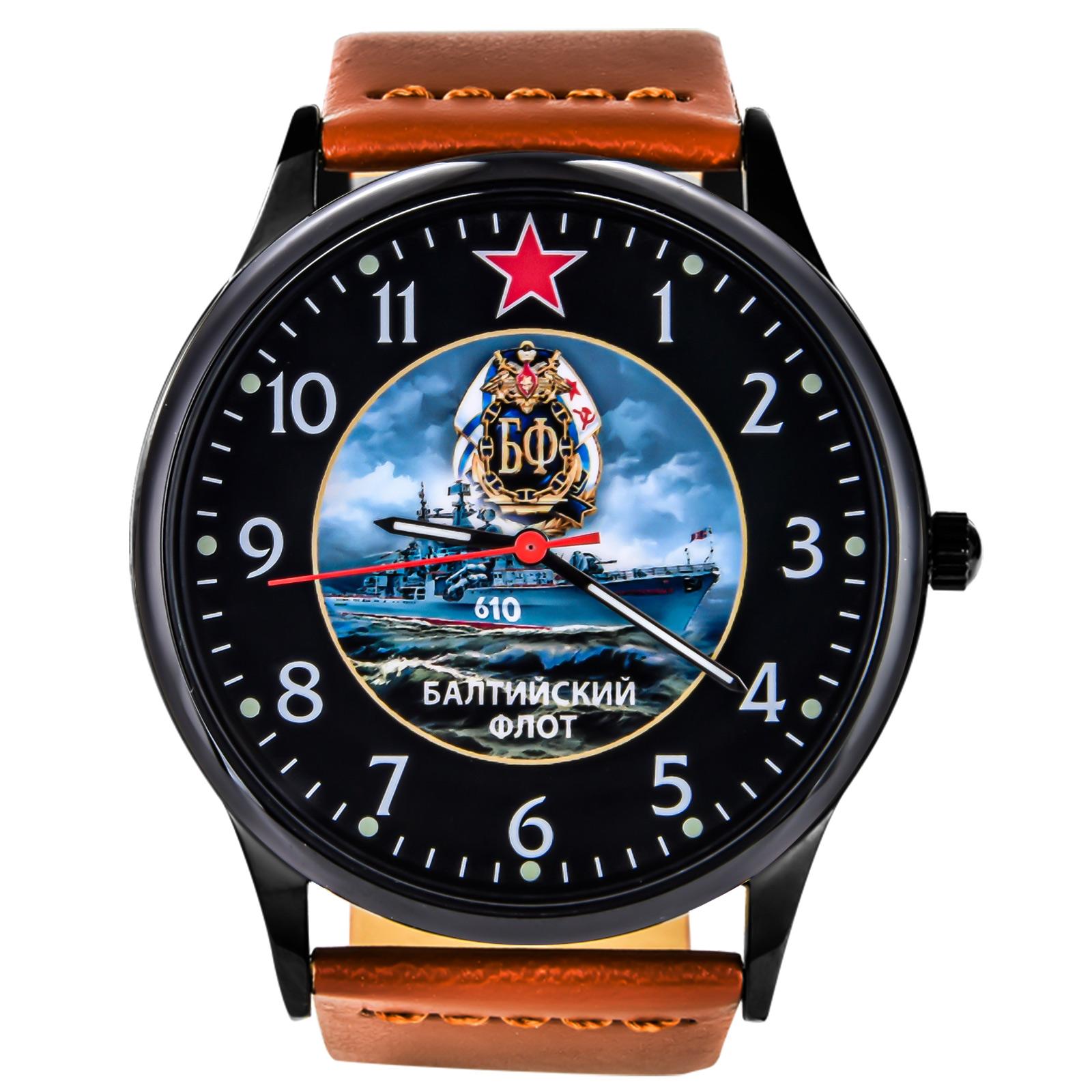 """Эксклюзивные мужские часы """"Балтийский флот"""" купить в Военпро"""