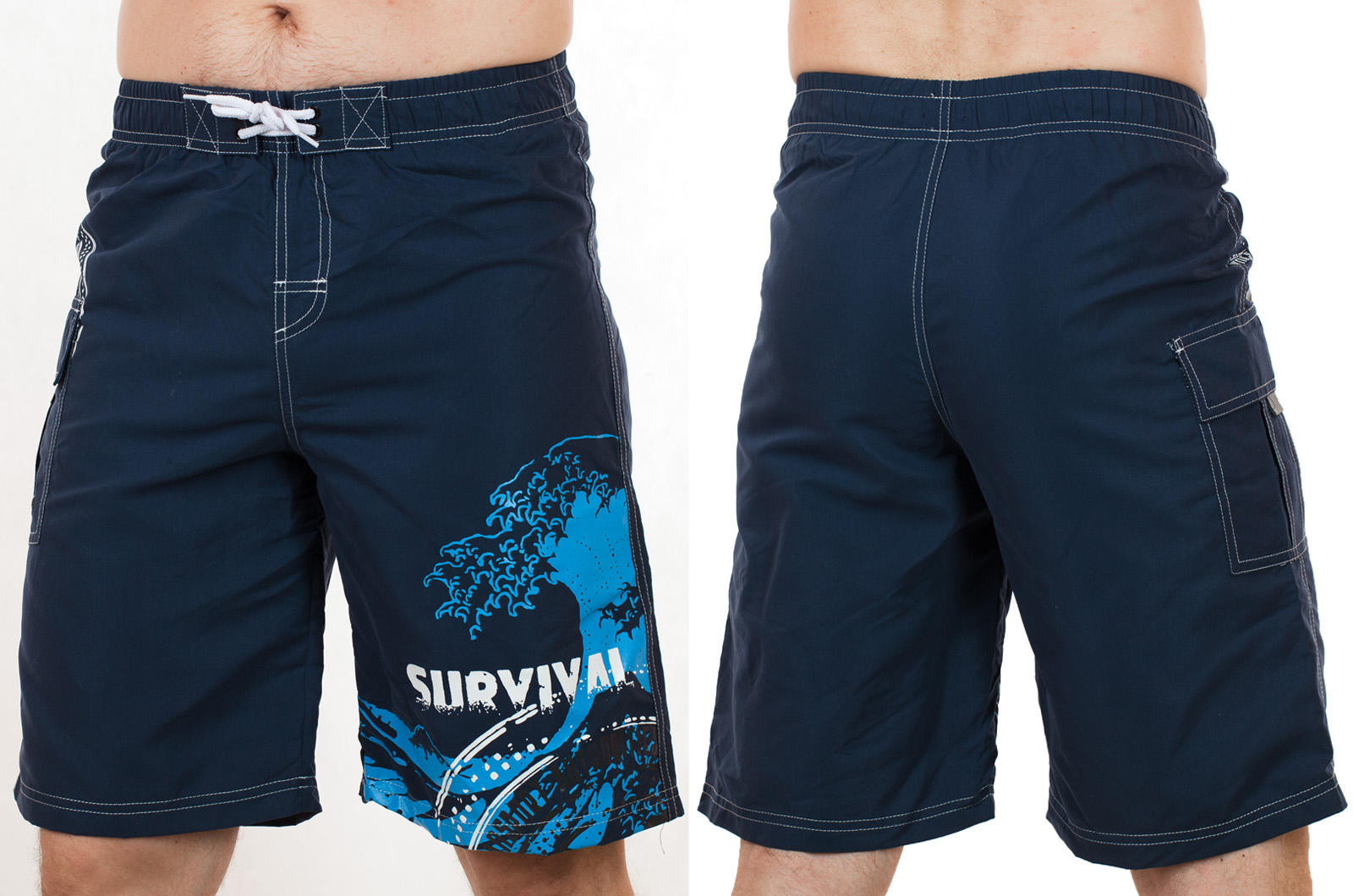 Эксклюзивные мужские шорты с принтом Survival от In Extenso (Франция) по лучшей цене