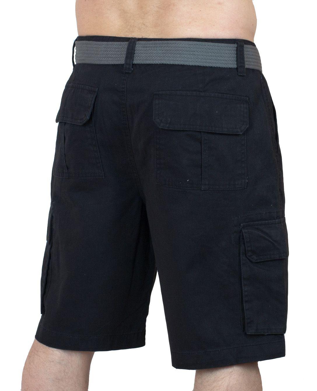 Эксклюзивные шорты карго Weatherproof - вид сзади