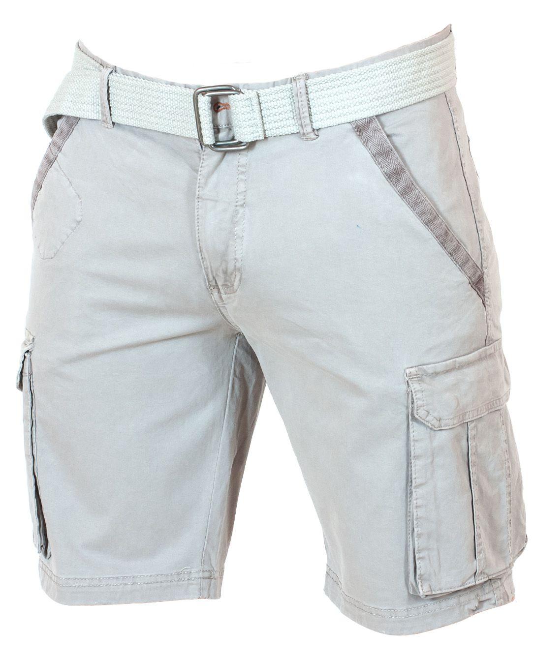 Эксклюзивные светлые шорты карго