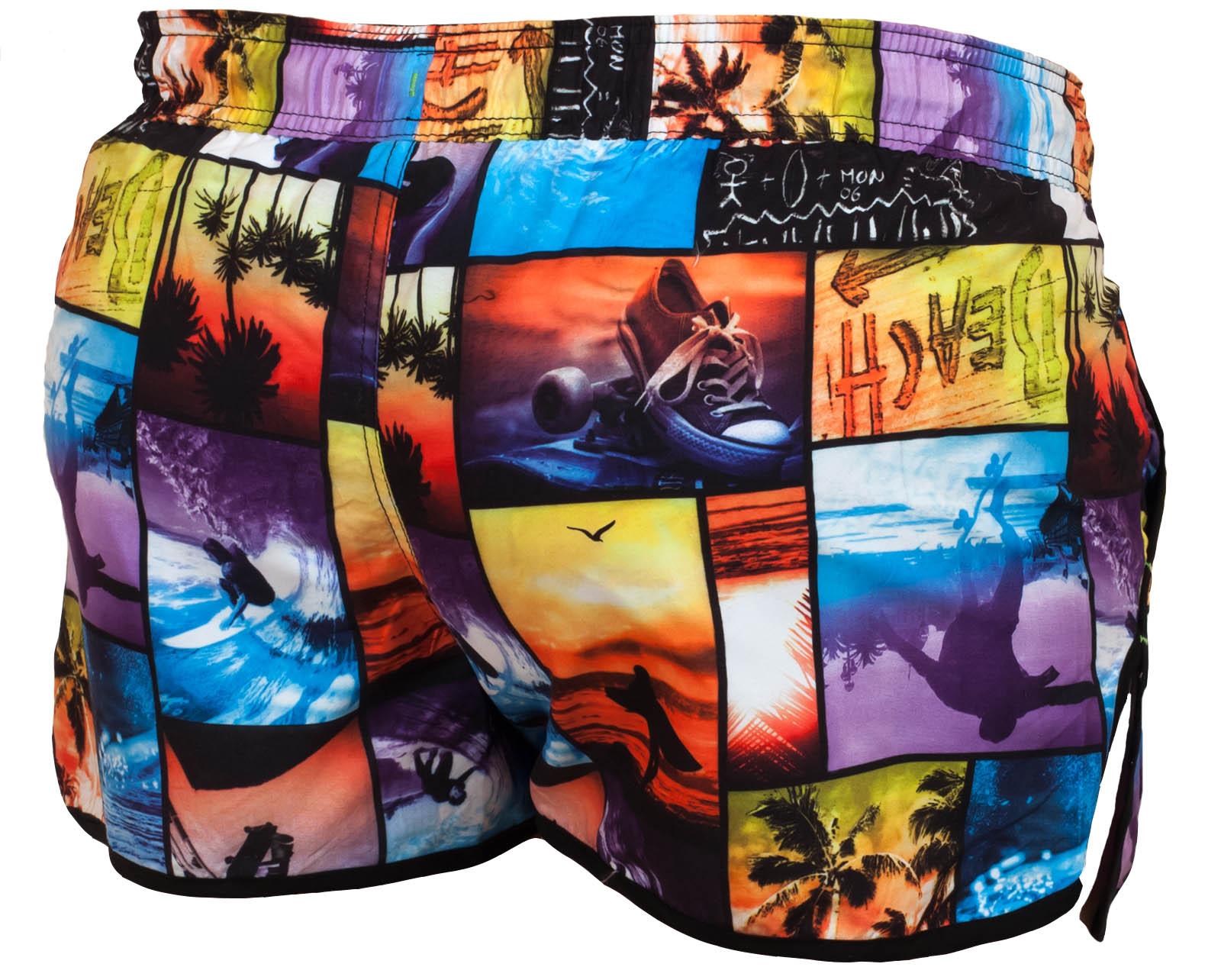 Эксклюзивные женские пляжные шорты Oxigeno60 Cote d