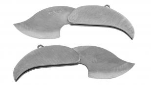 Эксклюзивный брелок скрытого ношения Martinez Albainox® Silver Leaf (Испания)