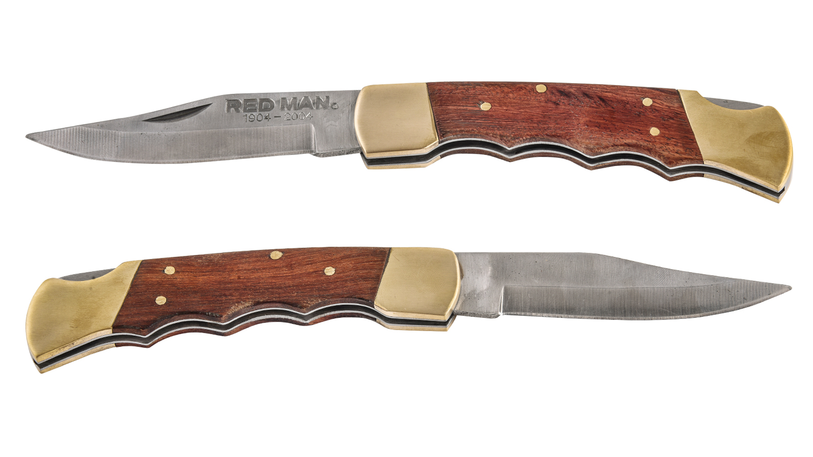 Эксклюзивный нож Red Man 100th Anniversary 1904-2004 Commemorative Lockback Knife (США)