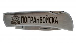 """Заказать эксклюзивный складной нож """"Погранвойска"""""""