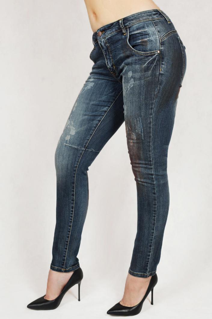 Экстраординарные дизайнерские джинсы с эффектом пуш-ап от Tesini®