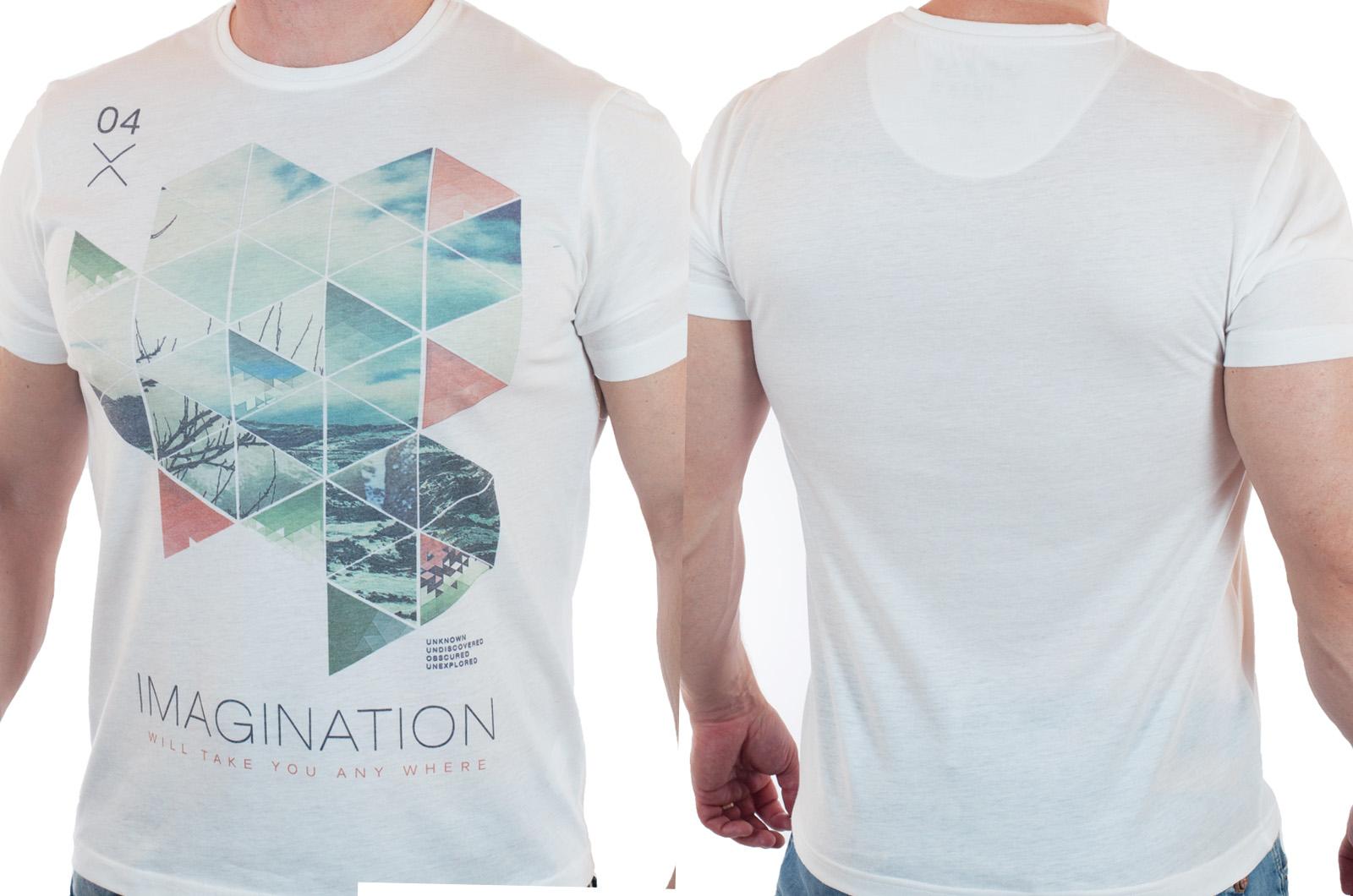Элегантная летняя футболка для мужчин от Max Youngmen