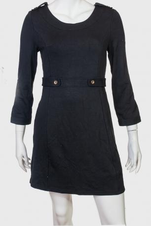 Элегантное черное платье бренда ZB.
