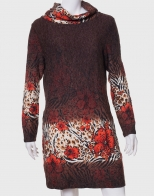 Элегантное женское платье с воротником-хомут от Paco Boutegue