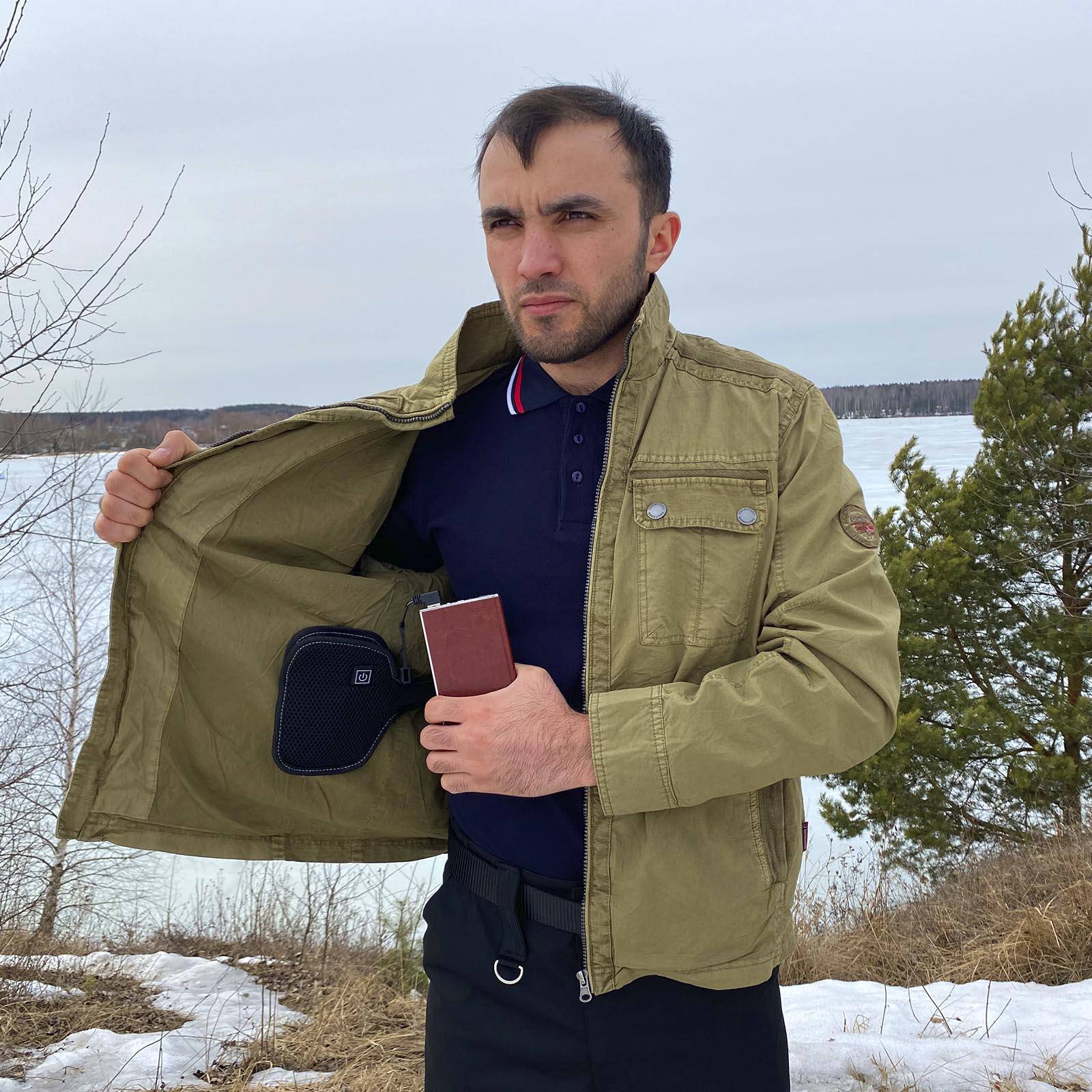 Электрический обогреватель для курток