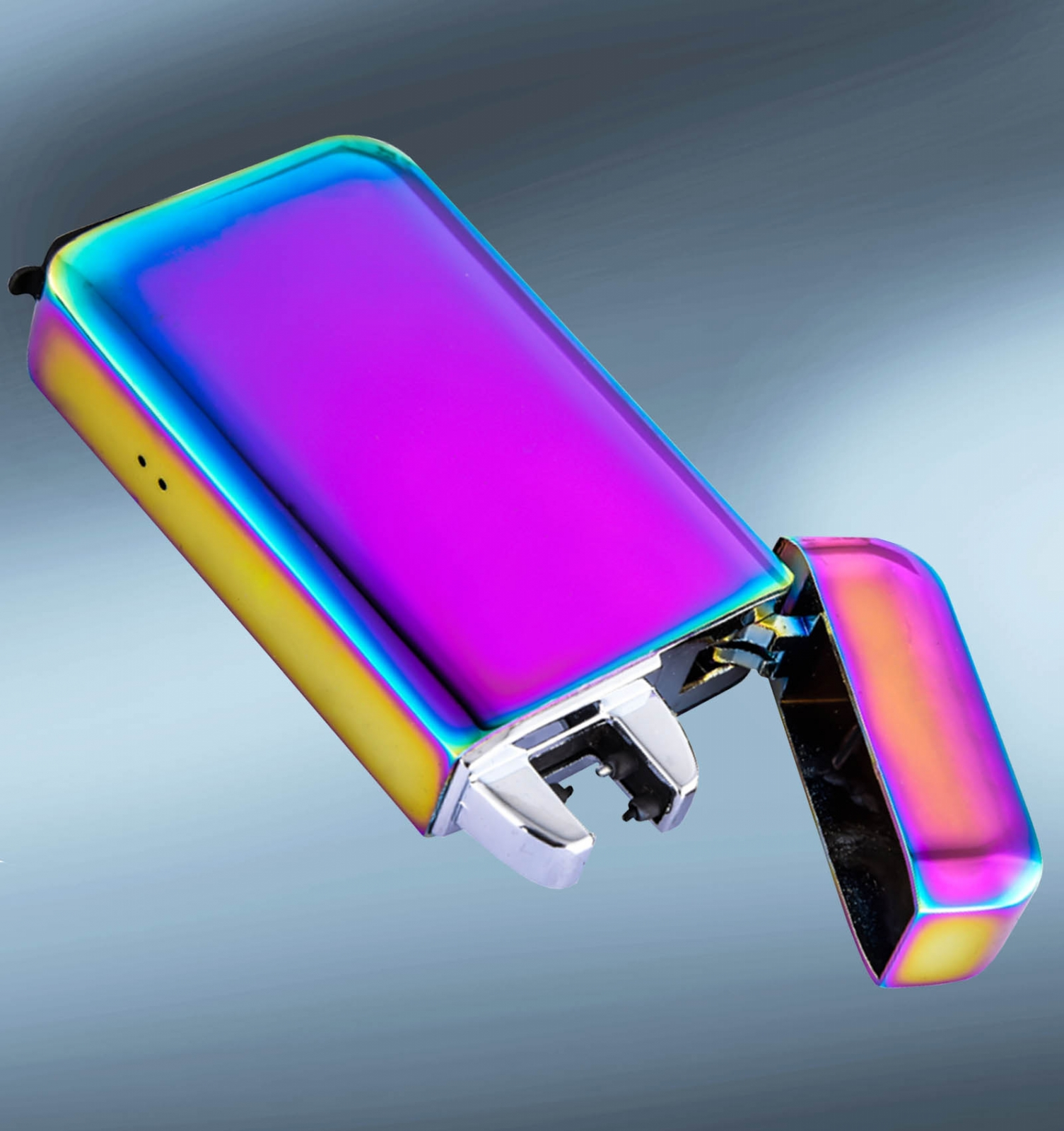 Электроимпульсная USB зажигалка хамелеон