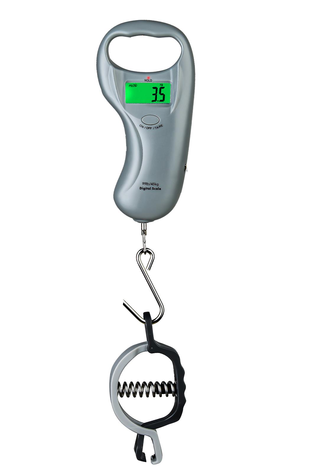 Электронный безмен до 45 кг для рыбалки и охоты