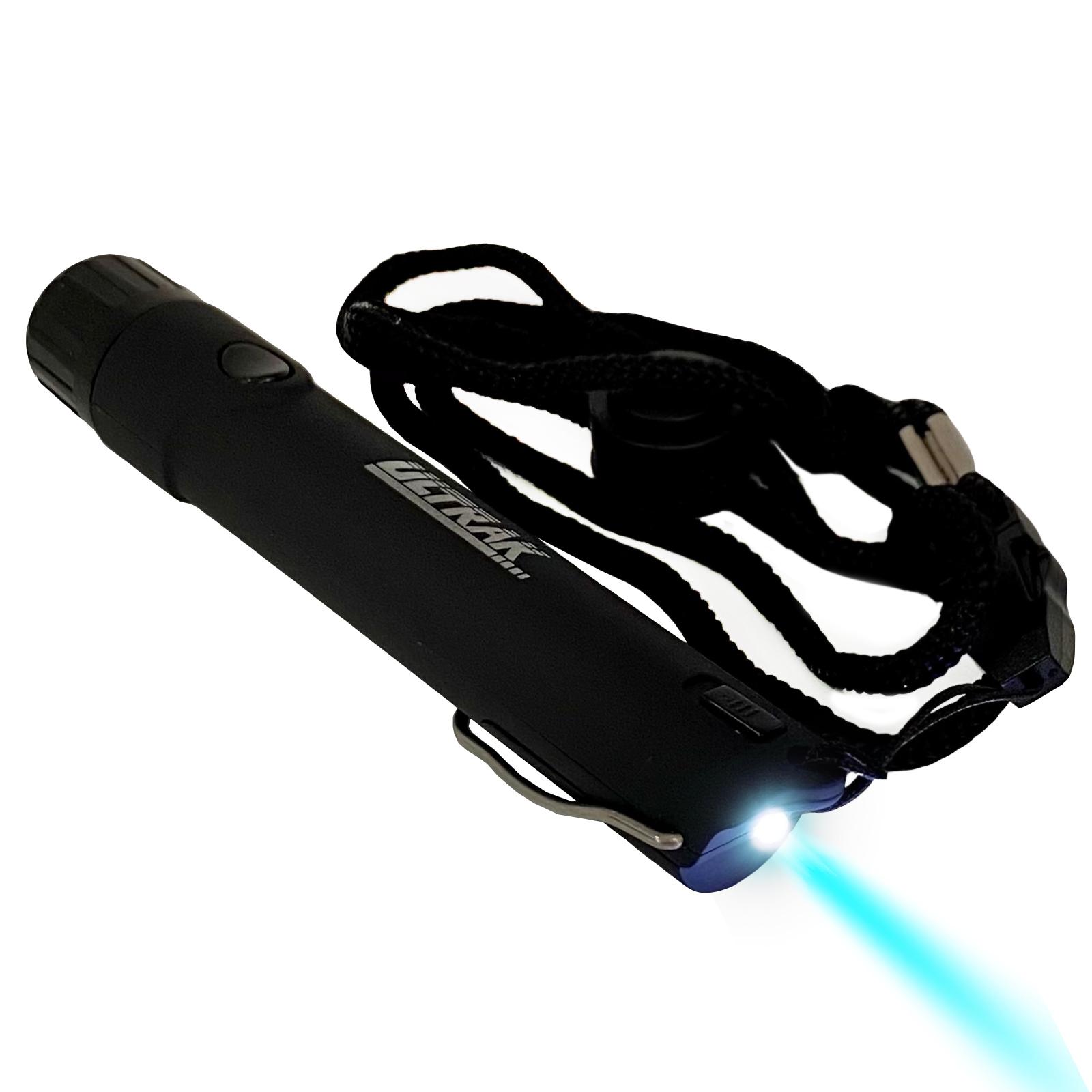 Электронный свисток Ultrak 125 c фонариком (черный)