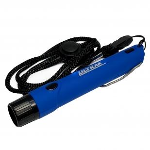 Электронный свисток выживальщика Ultrak 125 дБ с фонариком (синий)