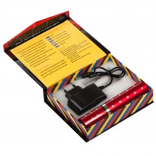 Электрошокер 1202 TYPE Self-Defensive FlashLight в виде помады с доставкой