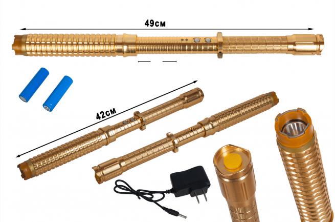 Электрошокер дубинка с фонариком HY-X10