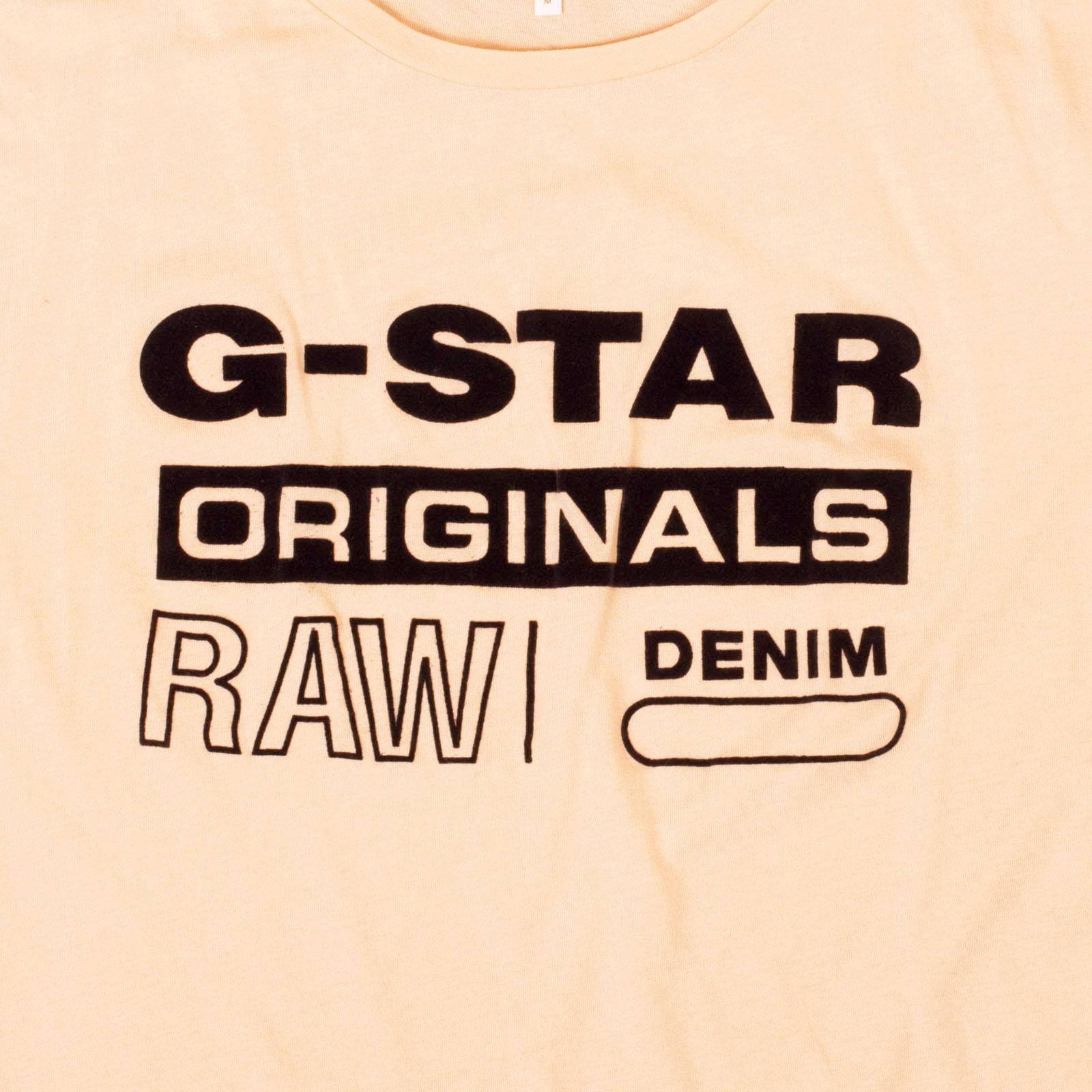 Элитная голландская футболка G-Star Raw® Originals Denim
