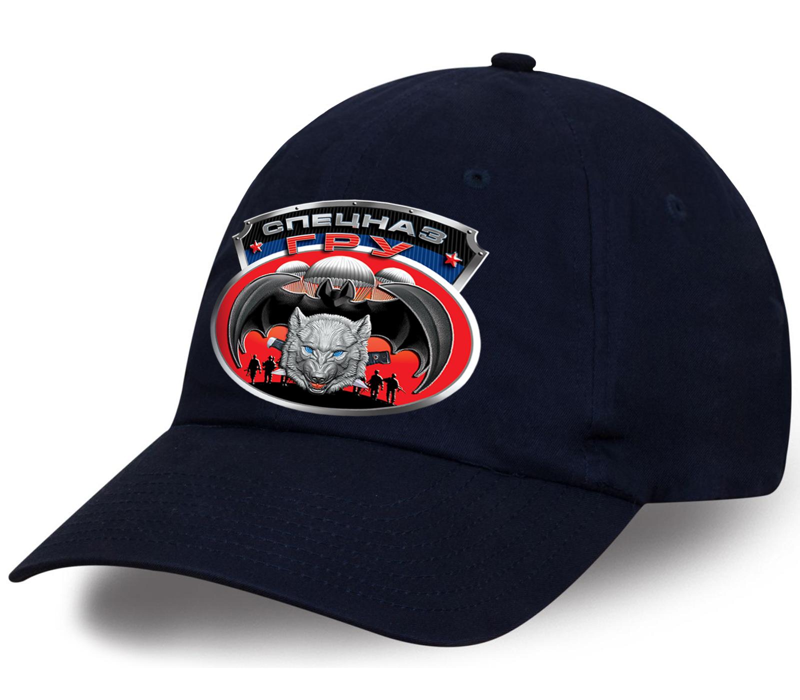 Элитная кепка с эксклюзивным дизайнерским принтом «Спецназ ГРУ» и волком. Безупречное качество по привлекательной цене. Заказывайте только лучшее