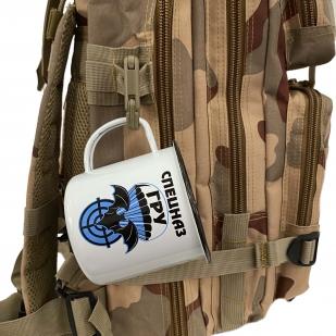 Эмалированная кружка с принтом Спецназ ГРУ