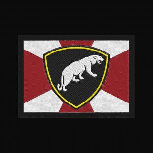 Эргономичная черная толстовка с эмблемой ОДОН ВВ МВД