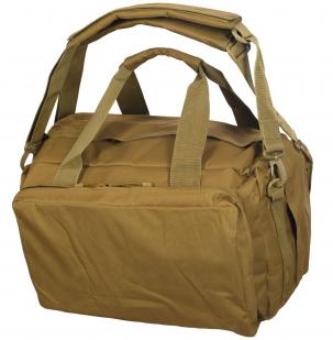 Эргономичная мужская сумка-рюкзак с нашивкой ДПС =- заказать по низкой цене