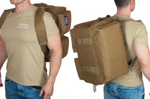 Эргономичная мужская сумка-рюкзак с нашивкой ДПС - заказать в  подарок