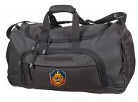 Эргономичная темно-серая сумка с нашивкой УГРО 08032B