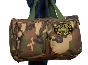 Эргономичная военная сумка с нашивкой Танковые Войска - заказать оптом