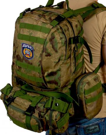 Эргономичный большой рюкзак-трансформер с нашивкой ДПС