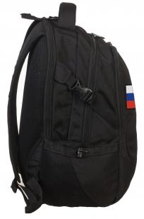 Эргономичный черный рюкзак с нашивкой Штандарт Президента - купить выгодно