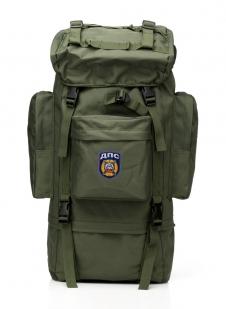 Эргономичный каркасный рюкзак с нашивкой ДПС - купить в подарок