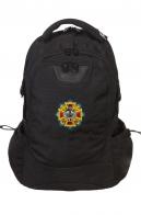 Эргономичный надежный рюкзак с нашивкой Полиция России