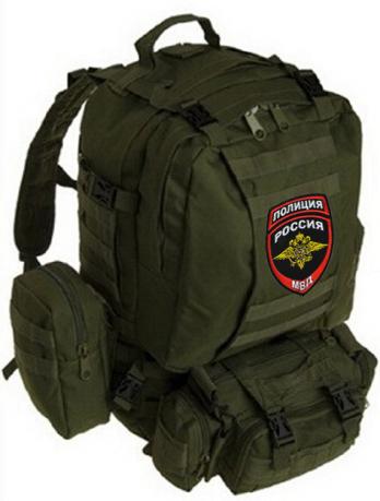 Эргономичный рейдовый рюкзак с нашивкой Полиция России